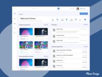 Learning App Dashboard