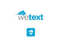 wetext logo + icon