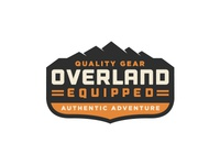 Overland Equipped | Badge Logo
