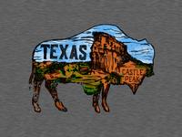 Texas | Castle Peak Tee