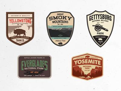 Vector Patches patch badge branding logo outdoors park goods authentic apparel vintage