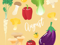 August - Seasonal Veggies