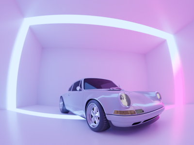 Porsche 911 911 porsche porsche 911 cinema4d blender3d illustration blender 3d
