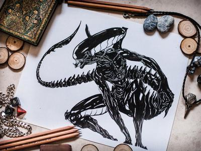 Alien designed for merchandising