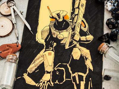 Commission Fanart of Warhammer