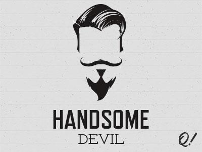 Handsome devil logo by matt quirk dribbble handsome devil logo voltagebd Gallery