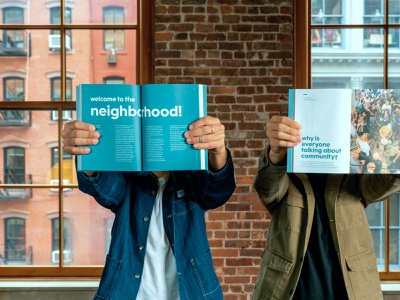 Life by Venn - The Book neighborhood human centered design brand purpose design community impact social good graphic design book cover design book cover book