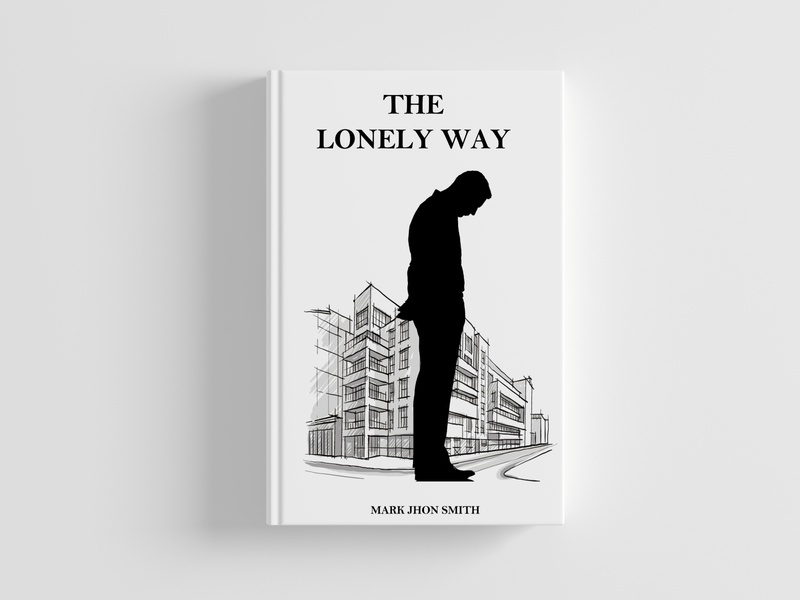 THE LONELY WAY(BOOK COVER ILLUSTRATION)