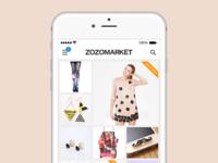 ZOZOMARKET App