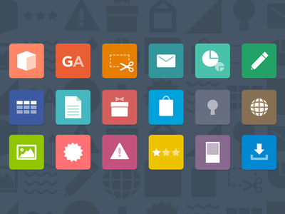 STORES.jp add-on icons flat simple minimal iconset icons icon storesjp