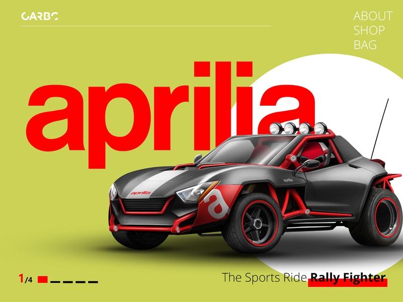 Rally Fighter - Aprilia speed riding driving fun offroad sporty inspiration new article creations curious fun top speed fastest car design website sports car future game car fighter rally car