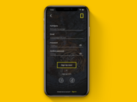 Daily UI 01 - National Geographic Sign up
