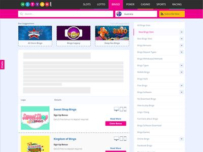 Hityah new listing page