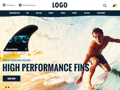 Surf Nation Website Design