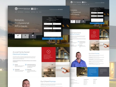 Enersol Electrical Solutions Website