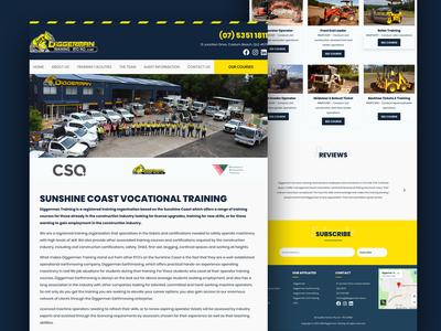 Diggerman Training Website