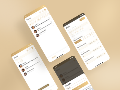 Reach - Connect to your favorite Content Creators luxury uxui ux ui research ux research ux problem user experience ios application design mobile design design product design mobile ui product application app mobile app design mobile app mobile