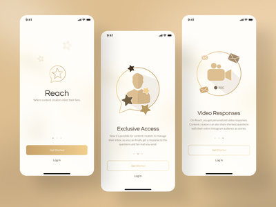 Introducing Reach! onboarding pwa ios ux design web ux ui royal luxury mobile application mobile ui product product design mobile app design application app mobile app design mobile design mobile