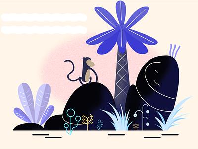 MONKEY ISLAND illustration