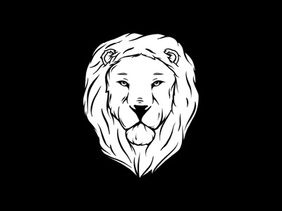 Lion Illustration graphicdesign illustrator logo graphic design digital illustration illustrations hand drawn lion head ipad procreate branding emblem tattoo lion logo illustration lion