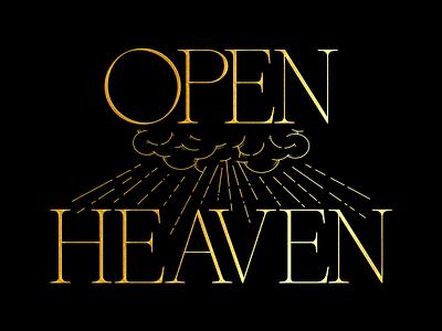 Open Heaven branding logodesign brand graphic design adobe illustrator typography logo graphicdesign illustrator lineart vector