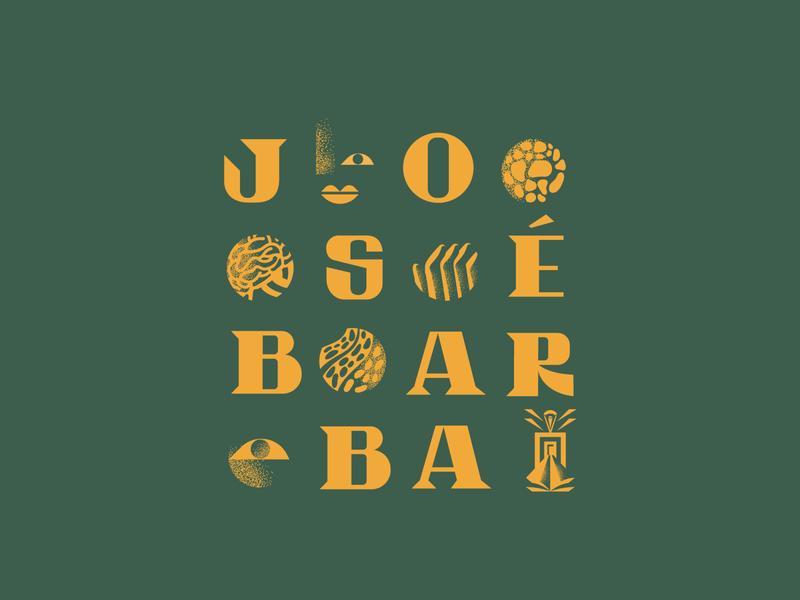 JOSÉ  BARBA books library typography vector logotype design mexico illustration branding design toro pinto brand identity branding
