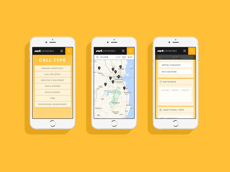 Artconnected marketplace lists list software design software mobile startups art dublin startup ireland ui ux design app