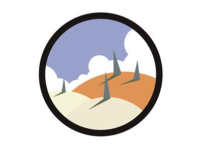 snow fields vector ipad design illustration adobe illustrator illustrator illustrator adobe winter landscape vector art