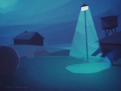 1st digital 2d background video game art game ipad