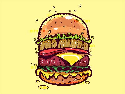 Burger burgers food burger procreate design ipad illustrator adobe illustrator illustration adobe