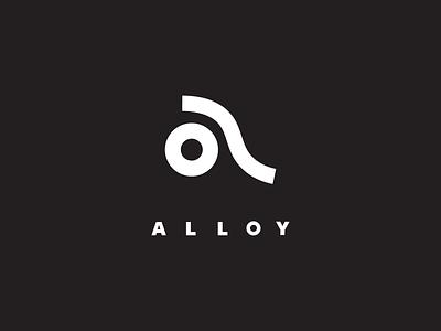 Alloy – logo concept geometric logo logo lockup brand identity wordmark brand design logo design identity design branding and identity branding logo