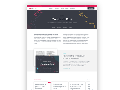 Content hub page branding and identity webpage sketchapp content uidesign web design website uxui ux