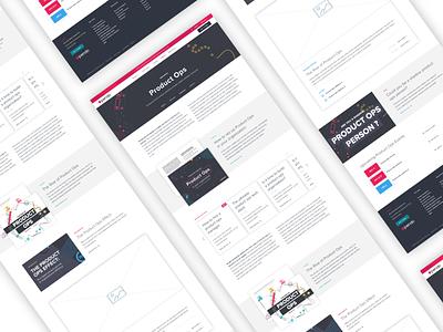 Content hub page resource library content sketchapp ux uiux ui branding and identity website design webpage website web design