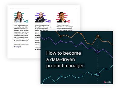 Ebook –Data Driven PM illustrator brand design branding identity design content indesign branding and identity layout ebook design ebook book ebook cover