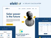Elektor: A Solar Calculator