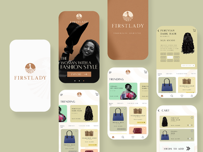 Firstlady App Store UI