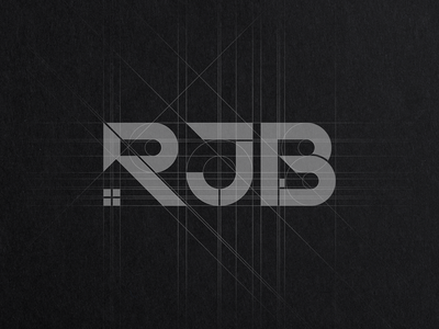 Grids for RJB Carpentry & Construction Logo Design