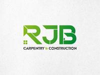Final Colour Logo Design for RJB Carpentry & Construction