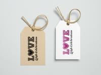 Love Leigh Celebrations Logo Design