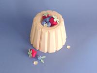 Paper Bundt Cake