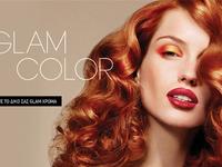 Glam Hair Salon Hero
