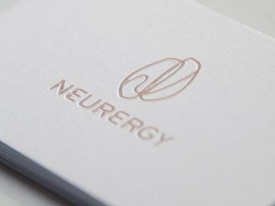 Neurergy Branding neurergy brandind logo logotype brand identity identity print printing business cards