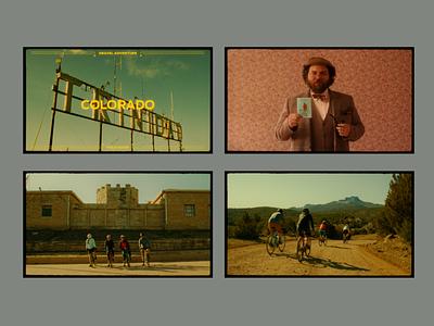 BeneskiDesign Gravel Guide Video Stills digital advertising branding design promotional short film
