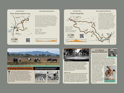 BeneskiDesign Gravel Guide Maps & Stories bookdesign illustration print design design