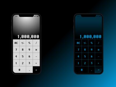 #DailyUI - 04 - Calculator
