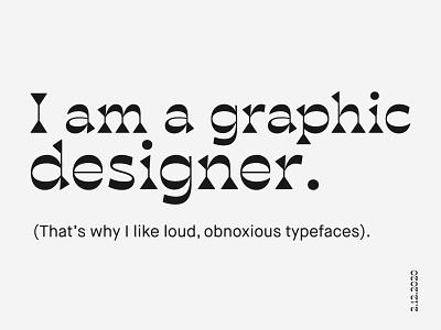 Career Day typogaphy presentation design