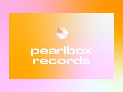 pearlbox records logo branding concept branding brand exploration design