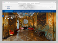 Pages proposals for Banque de France (Isea Bloom Agency)