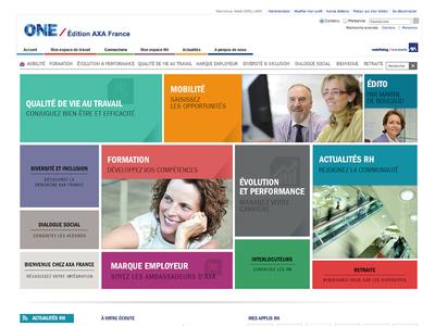 AXA France - Intranet RH