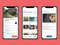 Airbnb, Fill the Fridge